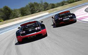 Hintergrundbilder BUGATTI Zwei Hinten Luxus Roadster Veyron Grand Sport Roadster Vitesse WRC