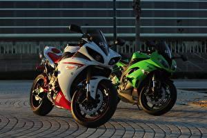Hintergrundbilder Yamaha Motorrad