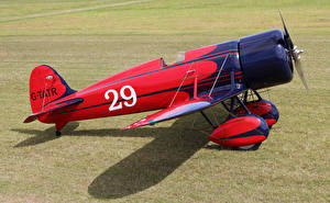 Fotos Flugzeuge Antik Rot