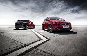 Photo Peugeot 2 Maroon 2015 308 GTi automobile