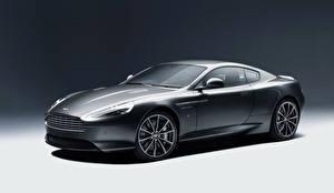 Fotos Aston Martin Graues Seitlich 2015 DB9 GT auto