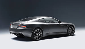 Fotos Aston Martin Graue Seitlich 2015 DB9 GT Autos