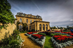 Picture England Houses Gardens Mansion Silsoe Cities