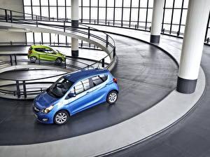 Fotos Opel Zwei Metallisch Parken 2015 Karl automobil