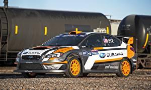 Hintergrundbilder Tuning Subaru Rallye 2015 WRX STI Rallycross