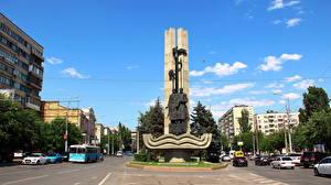Bilder Denkmal Wolgograd Sagittarius-the founders of Tsaritsyn