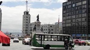 Wallpaper Houses Bus Chile Valparaiso Street Cities