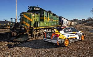 Fotos Züge Subaru Loks Rallye 2015 WRX STI Rallycross