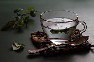 Bilder Tee Getränke Großansicht Tasse Löffel Lebensmittel