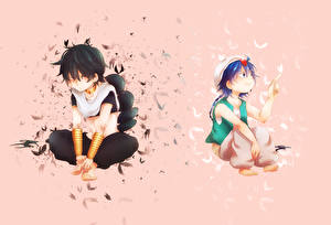 Pictures Guy Two Magi The Labyrinth of Magic, aladdin, judal Anime