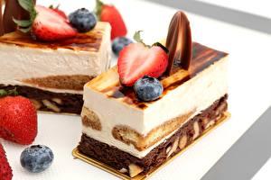 Hintergrundbilder Torte Großansicht Erdbeeren Süßware Lebensmittel