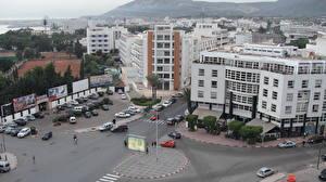 Image Building Morocco Roads Street Agadir Cities