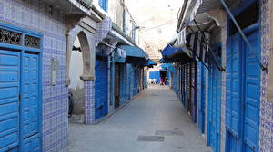 Pictures Houses Morocco Street Doors Essaoulra Cities
