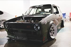 Images Tuning Volkswagen Front Headlights Golf Mk1 GTL Rabbit stance Cars