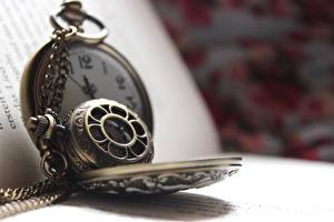 Images Clock Closeup Pocket watch Book