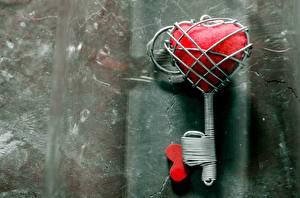 Wallpaper Love Closeup Creative Heart Key lock