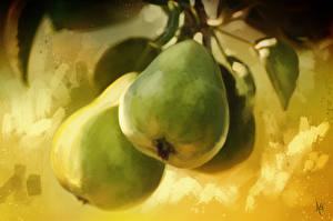Picture Pears Pictorial art Fruit
