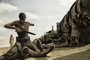 Hintergrundbilder Mad Max: Fury Road Charlize Theron Flinte Film Prominente Mädchens