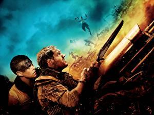 Fotos Mad Max: Fury Road Charlize Theron Mann Flinte Tom Hardy Film Prominente Mädchens