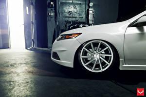 Images Honda White Wheel Vossen automobile