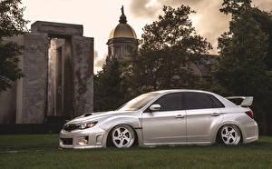 Fotos Subaru Seitlich Impreza WRX STi BellyScrapers JDM Rotiform Autos