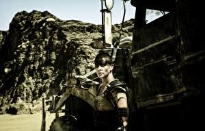 Hintergrundbilder Mad Max: Fury Road Charlize Theron Film