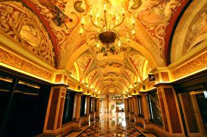 Bilder USA Innenarchitektur Las Vegas Spielbank Städte