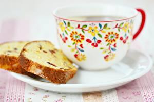 Bilder Tee Backware Großansicht Keks Tasse Untertasse Lebensmittel