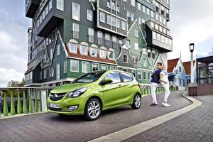 Hintergrundbilder Opel Gebäude Gelb grüne Metallisch 2015 Karl
