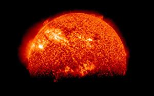 Fotos Großansicht Sonne Kosmos