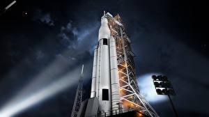 Fotos Rakete NASA Spaceport Kosmos