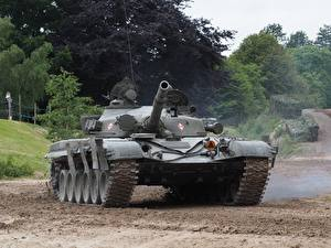 Pictures Tank T-72 Tankfest 2015 military