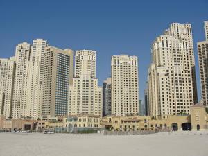 Picture Houses Dubai Emirates UAE Skyscrapers Sand Cities