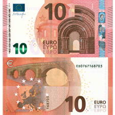 Bilder Geld Banknoten Euro 10 modification 2014