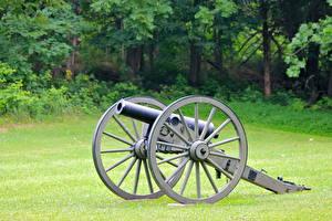 Fotos Kanone Militär