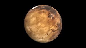 Fotos Planeten Nahaufnahme Mars Weltraum