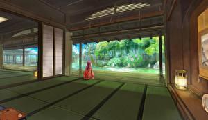 Fonds d'écran Salle Kimono sarari zoom Anime Filles
