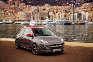 Hintergrundbilder Opel 2015 Vauxhall Adam Grand Slam Städte