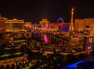Bilder USA Gebäude Las Vegas Nacht