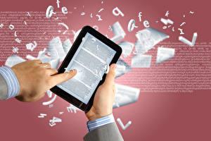 Wallpaper Hands Tablet computer Computers