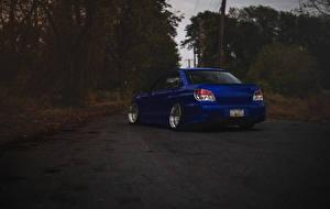 Hintergrundbilder Subaru Blau impreza wrx sti