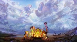Hintergrundbilder World of WarCraft Spiele