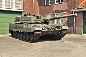 Photo Tank Leopard 2 Leopard 2A4 military