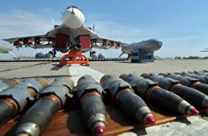 Fotos Flugzeuge Rakete Mikojan-Gurewitsch MiG-29 Luftfahrt