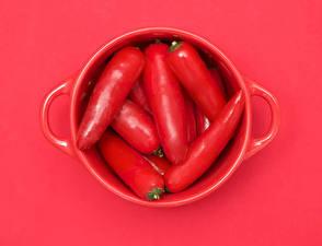 Hintergrundbilder Peperone Großansicht Rot Tasse Lebensmittel