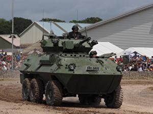 Wallpaper APC Cougar, Tankfest 2015 Army
