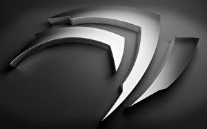 Photo Logo Emblem Nvidia