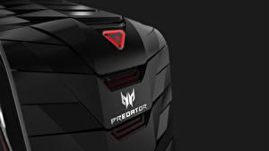 Images Closeup Logo Emblem Acer Predator G6 hi-tech