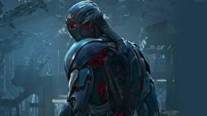Pictures Avengers: Age of Ultron Superheroes Armor Ultron film Fantasy