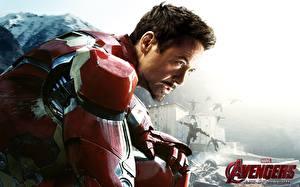 Picture Avengers: Age of Ultron Robert Downey Jr Iron Man hero Men Heroes comics Celebrities